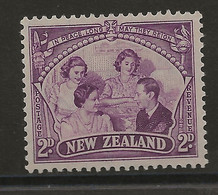 New Zealand, 1946, SG 670, Mint Hinged - Unused Stamps