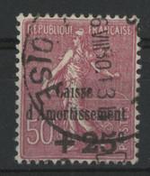 CAISSE D'AMORTISSEMENT N° 254 3ème Série Cote 30 € Oblitéré. TB - Sinking Fund