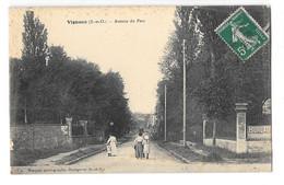 (30804-91) Vigneux - Avenue Du Parc - Vigneux Sur Seine