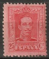 Spain 1922 Sc 338a  MNG(*) Type II - Unused Stamps