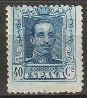 Spain 1922 Sc 340  MH* - Unused Stamps