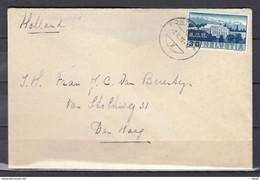 Brief Van Zwitserland Naar Den Haag (nederland) - Briefe U. Dokumente