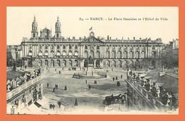 A511 / 245 54 - NANCY Place Stanislas Et Hotel De Ville - Unclassified