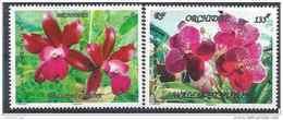 2015 WALLIS FUTUNA 837-38** Fleurs, Orchidées - Unused Stamps