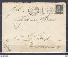 Brief Van Luzern 2 Naar Lubeck Ferien In Der Schweiz - Briefe U. Dokumente