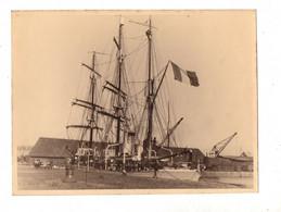 """Saint Malo. Le """"Pourquoi Pas"""" Du Commandant Charcot A Quai.Photo Bruel Angers .années 30-35. - Barcos"""