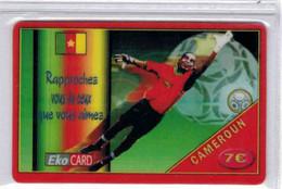 EKO CARD - 7 € - Football - Cameroun - Voir Scans - Antilles (French)