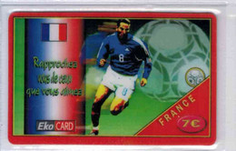 EKO CARD - 7 € - Football - France - Voir Scans - Antilles (French)