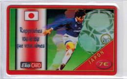 EKO CARD - 7 € - Football - Japon - Voir Scans - Antilles (French)
