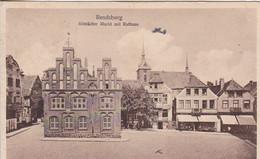 AK Rendsburg - Altstädter Markt Mit Rathaus - 1925 (56778) - Rendsburg