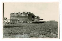 Aérodrome Orly-Villeneuve - Les Baptèmes De L'Air (animation, Avions, Ballon Météo à Gauche, Pub Mobiloil, Gargoyle - Aeródromos