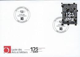 Luxembourg - Luxemburg - FDC 2021  Lycée Des Arts Et Métiers  125 Joer - FDC