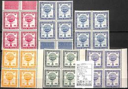 D - [839154]TB//**/Mnh-c:36e-Belgique 1951 - E57/62, Belgica, Bd4, Montgolfières - Erinofilia