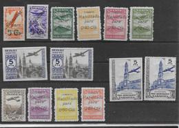 ESPAGNE  Lot Timbres Neufs*   D Aviation  A Déterminer état Divers - Unclassified