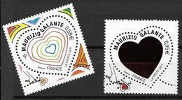 France 2011 N° 4528/4529 Neufs St Valentin Mauriziio Galante à La Faciale - Neufs