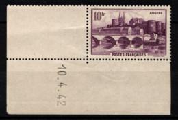 FRANCE 1941 -  Y.T. N° 500 - NEUF** - Unused Stamps