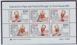 PORTUGAL 1565-1567,unused,popes - Unused Stamps