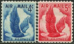 UNITED STATES USA 1954 Airmail Bald Eagle Eagles Birds Of Prey Animals Fauna MNH - Eagles & Birds Of Prey