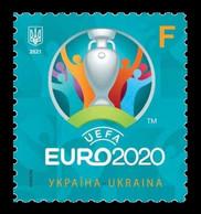 Ukraine 2021 Mih. 1965 UEFA European Football Championship EURO 2020 MNH ** - Ukraine