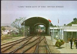 China - Circa 1970 - Postcard - Lowu-Main Thoroughfare On Sino-British Border - No Circulated - A1RR2 - Cina (Hong Kong)