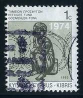 Cyprus (Greek) - Obligatory Refugee Fund Tax    Aid To Refugees   Refugees   1992, Mi.Z7II, Scott.RA9, Yt.802 - Refugees