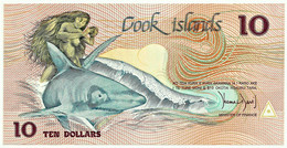 Cook Islands - 10 Dollars - ND ( 1987 ) - Pick 4 - Unc. - Serie BAX 000945 - Cook
