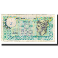 Billet, Italie, 500 Lire, 1976, 1976-12-20, KM:94, TTB - 500 Liras