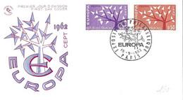 EXPOSITION PHILATELIQUE PARIS 15 9 1962 - TIMBRES ET CACHET ILLUSTRES ARBRES STYLISES, ENVELOPPE ILLUSTREE A VOIR - 1962