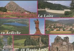 La Loire En Ardèche, En Haute-Loire - La Haute Vallée Vellave - Les Gorges De La Loire - Multivue - (P) - Unclassified
