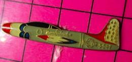 621 Pin's Pins / Beau Et Rare / THEME : AVIATION / THUNDERBIRDS AVION T-33 OU F-80 ? Sur Lequel Ils N'ont Jamais Volé - Aerei