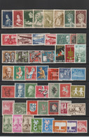 Sarre - Lot De 100 Timbres Neufs** - Collections, Lots & Series