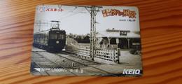 Prepaid Transport Card Japan - Train, Railway, Historic Photo - Japan