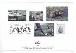 Belg. 2021 - Feuillet Noir & Blanc N° 3/5 ** -  (Premier Jour 14 Juin 2021) - Unused Stamps