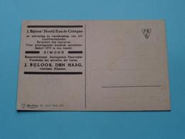 J. BIJLOOS Den Haag / Alkmaar ( Hoofd Eau De Cologne / Simone ) > Nr 4547 Série 270 (Bloemen) Anno 19?? ( Zie Foto ) ! - Publicidad
