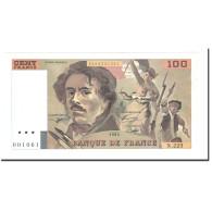 France, 100 Francs, 1993, SUP+, Fayette:F69/u. 7) - 100 F 1978-1995 ''Delacroix''
