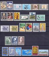 Greece 1965 Complete Year MNH - Nuovi