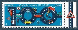 Les 100 Ans Du Code De La Route BDF (2021) Neuf** - Ongebruikt