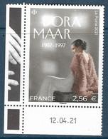 Dora Maar Coin Daté (2021) Neuf** - Ongebruikt