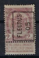 RIJKSWAPEN Nr. 55   Voorafgestempeld Nr. 715 A  FLEURUS 05 ; Staat Zie Scan ! Inzet Aan 20 € ! - Roller Precancels 1900-09