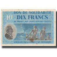 France, Bon De Solidarité, 10 Francs, TTB - Bons & Nécessité