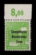 SBZ 1948 Nr 185a Postfrisch (404999) - Soviet Zone
