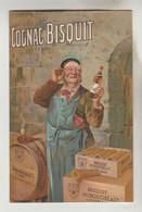 CPSM PUBLICITE BOISSON - COGNAC BISQUIT DUBOUCHE & Cie JARNAC (Charente) - Publicidad
