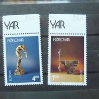 Feroe Foroyar 240/241 Europa  Parfait Etat  Neuf Mnh ** - Faroe Islands