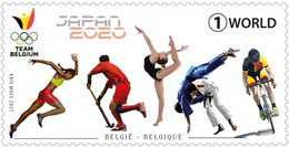 Belgium.2021.Summer Olympic Games 2021.Tokyo.1 V. ** . - Summer 2020: Tokyo