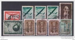 ARGENTINA:  1940/62  POSTA  AEREA  -  INSIEME  10  VAL. US. -  YV/TELL. 20//87 - Posta Aerea