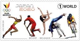 Belgium.2021.Summer Olympic Games 2021.Tokyo.1 V. ** . - Rasenhockey
