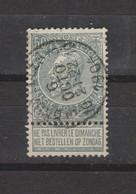 COB 63 Centraal Gestempeld Oblitération Centrale BRUXELLES 3.10 - 1893-1900 Schmaler Bart