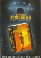"""Carte Postale édition """"Carte à Pub"""" - Steven Spielberg - Le Livre (Carlotta Films) Cinéma - Publicidad"""
