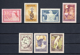 Greece 1953 National Products Complete Set MNH - Nuovi