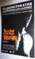 """Carte Postale """"Cart'Com"""" (2003) - Vie Et Mort De Pier Paolo Pasolini (de Michel Azama) Vingtième Théâtre - Publicidad"""